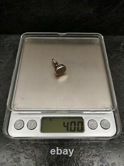 Antique 9ct Gold Albert Pocket Watch Chain Seal Fob