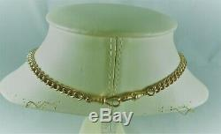 Antique Estate 9ct Rolled Gold G F Albert Pocket Watch Chain Necklace C 1900