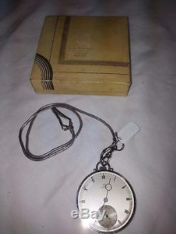 Antique Omega Pocket Watch with Chain and in Original Box