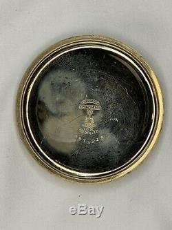 Antique Waltham 10kt Yellow Gold Filled Non-Running Pocket Watch with Chain