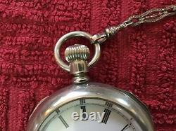 Antique Waltham Mans Pocket Watch with Chain