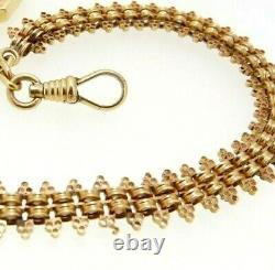 Chain For Pocket Watch Antique Gold Solid 18K Vintage Years' 20