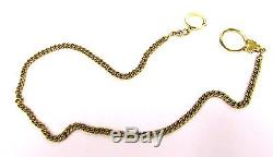 Classic 20 14K Gold Pocket Watch Link Chain