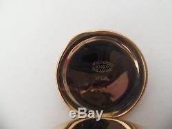 Elgin pocket watch / pendant (14k solid gold Hunter case with chain) 1901