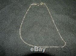 Gorgeous Antique 10k Yellow Gold Chain Pocket Watch Fob 13.5 Buy Now Or Offer