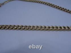 Mens 9 Ct Gold Watch Chain