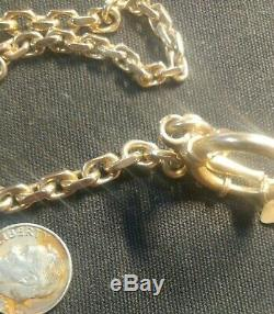 Mint Masonic Mans Pocket Watch Chain 1 Ounce Solid Gold