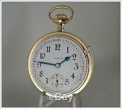 Museum Quality 1912 18S Illinois'Bunn Special' Pocket Watch, Box, Chain