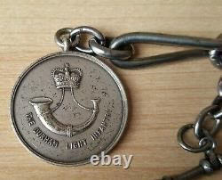 Original Full Size British Military WW2 Medals + Military Pocket Watch & Chain