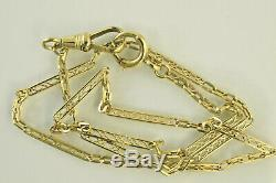 Pocket Watch Chain in 14kt Yellow Gold