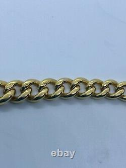 Solid 9ct Gold Doubke Albert Pocket Watch Curb Chain T Bar Necklace Bracelet Fob
