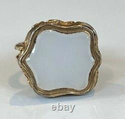 Victorian Antique 9ct gold fob seal Charm for albert pocket watch chain